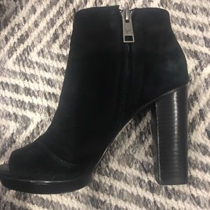 Joie 4 inch thick heel boot